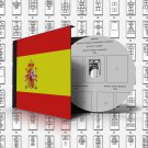 SPAIN STAMP ALBUM PAGES 1850-2011 (528 pages)