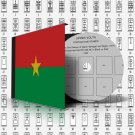 BURKINA FASO STAMP [UPPER VOLTA] ALBUM PAGES 1920-2011 (299 pages)