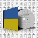 UKRAINE STAMP ALBUM PAGES 1918-2011 (172 pages)