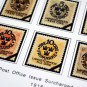 COLOR PRINTED SWEDEN [CLASS.] 1855-1946 STAMP ALBUM PAGES (31 illustrated pages)
