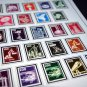 COLOR PRINTED GERMANY BERLIN 1948-1990 STAMP ALBUM PAGES (76 illustrated pages)