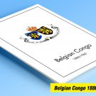COLOR PRINTED BELGIAN CONGO 1886-1960 STAMP ALBUM PAGES (95 illustrated pages) + FREE PDF LIBRARY