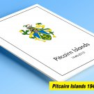 COLOR PRINTED PITCAIRN ISLANDS 1940-2010  STAMP ALBUM PAGES (118 illustrated pages)
