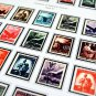 COLOR PRINTED ITALY 1944-1965 STAMP ALBUM PAGES (34 illustrated pages)