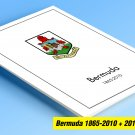 COLOR PRINTED BERMUDA 1865-2010 + 2011-2018 STAMP ALBUM PAGES (138 illustrated pages)