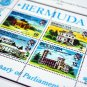 COLOR PRINTED BERMUDA 1865-2010 + 2011-2020 STAMP ALBUM PAGES (141 illustrated pages)