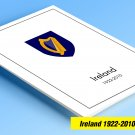 COLOR PRINTED IRELAND 1922-2010 STAMP ALBUM PAGES (275 illustrated pages)