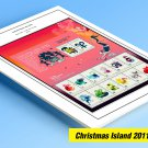 COLOR PRINTED CHRISTMAS ISLAND 2011-2020 STAMP ALBUM PAGES (55 illustrated pages)