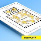 COLOR PRINTED FRANCE 2019 STAMP ALBUM PAGES (31 illustrated pages)