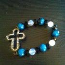 New Crystal Cross Bracelet