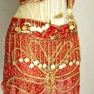 Belly Dance Costumes Red Dress A
