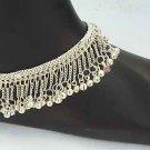 Heavy Silver Anklet Ankle Bracelets E