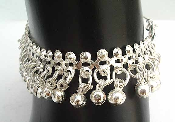 Silver Anklets for Women I