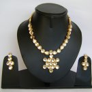Indian Bridal Wedding Jewelry Set Diamond and Clear color stones NP-456