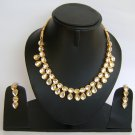 Indian Bridal Wedding Jewelry Set Diamond and Clear color stones NP-459