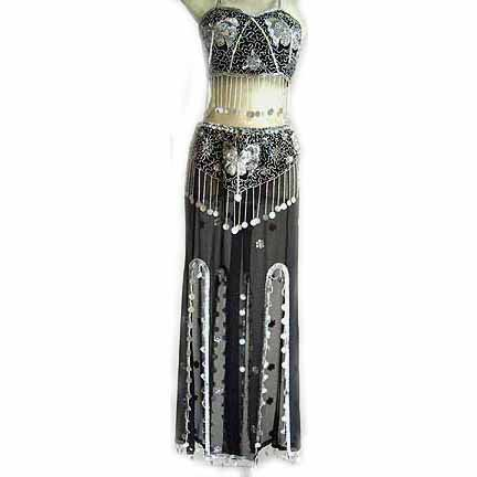 Belly Dance Costume Dress CS Black