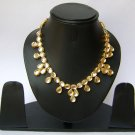Indian Bridal Wedding Jewelry Set Diamonds and Clear color stones NP-480