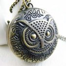 Owl necklace watch BZ17