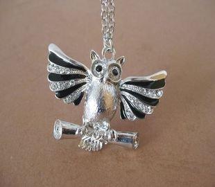 Owl necklace BZ15