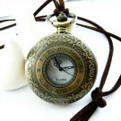Large Roman Numerals Pocket Watch Necklace