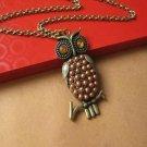 Owl necklace BZ8