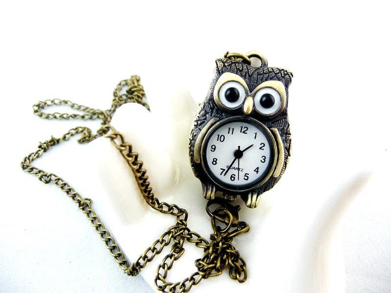 Owl necklace watch BZ6