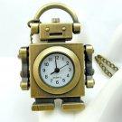 Robot Necklace pocket watch