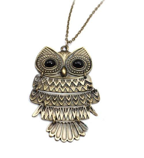 Owl Necklace NO:001