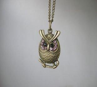 Little cute owl necklace