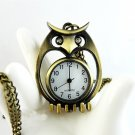 Owl watch necklace BZ31