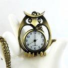 Owl watch necklace BZ31