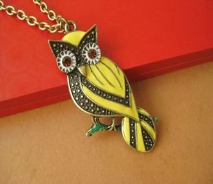 Color of the owl necklace
