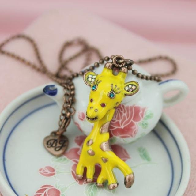 Cute Small deer necklace
