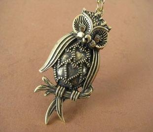 Owl necklace BZ278