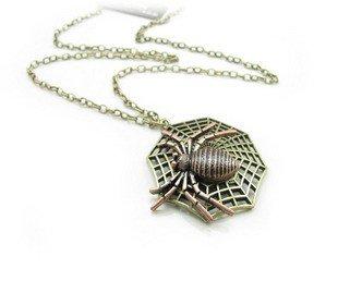 Spider necklace BZ368