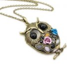 Owl necklace BZ511