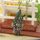 Beautiful peacock necklace