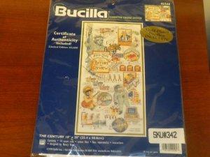 Bucilla-Cross Stitch Kit - The Century Limited Ed  NEW