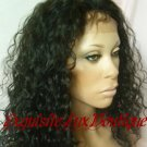"Indian Remy Water wave 16"" Full Lace wig"