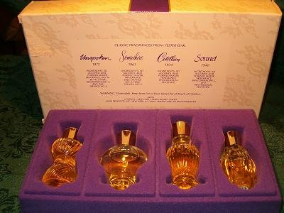 Avon Sentimental Treasures 4 Fragrances Collection