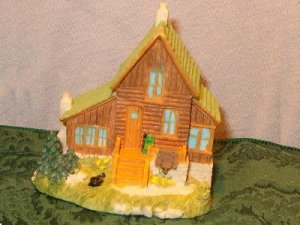 AH133 TRAPPER 'BIG MIKE'S' CABIN-Liberty Falls Collection