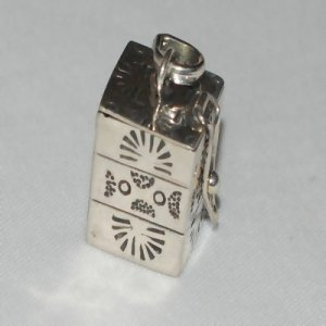 Sterling Silver 925 Hand-Made Santa Fe Prayer Box