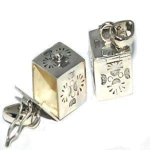 Sterling Silver Bali Handmade Tribal Prayer Box