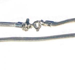 Sterling Silver 18 inch 2.5mm Snake Neckchain