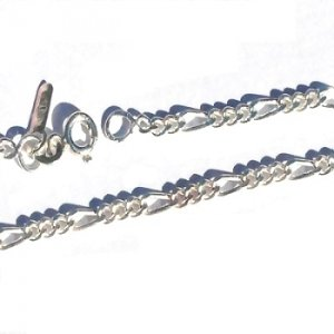 Sterling Silver 20 inch link neck chain necklace 3mm