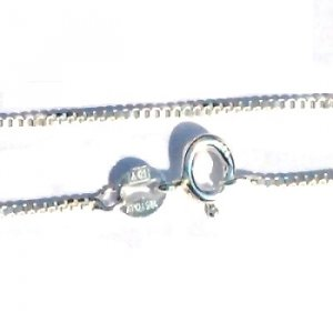 Sterling Silver 20 inch 1.1mm Neck Chain