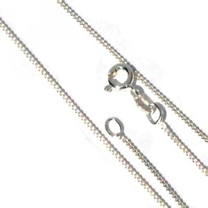 Sterling Silver 20 inch 1.2 mm Fine Link Chain