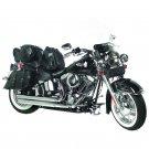 7pc Rock Design Genuine Buffalo Leather Motorcycle Luggage Set