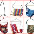 Club Fun™ Cushioned Hanging Swing Rope Chair & Frame