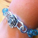 Secret Garden Handmade Swarovski Crystal Bracelet